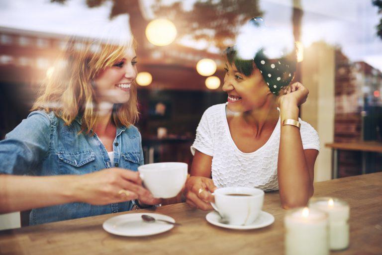 Guarantor Hub - Two Ladies Talking